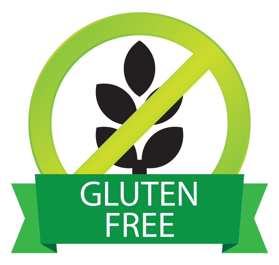 Clo Clo Vegan Foods Gluten Free Button