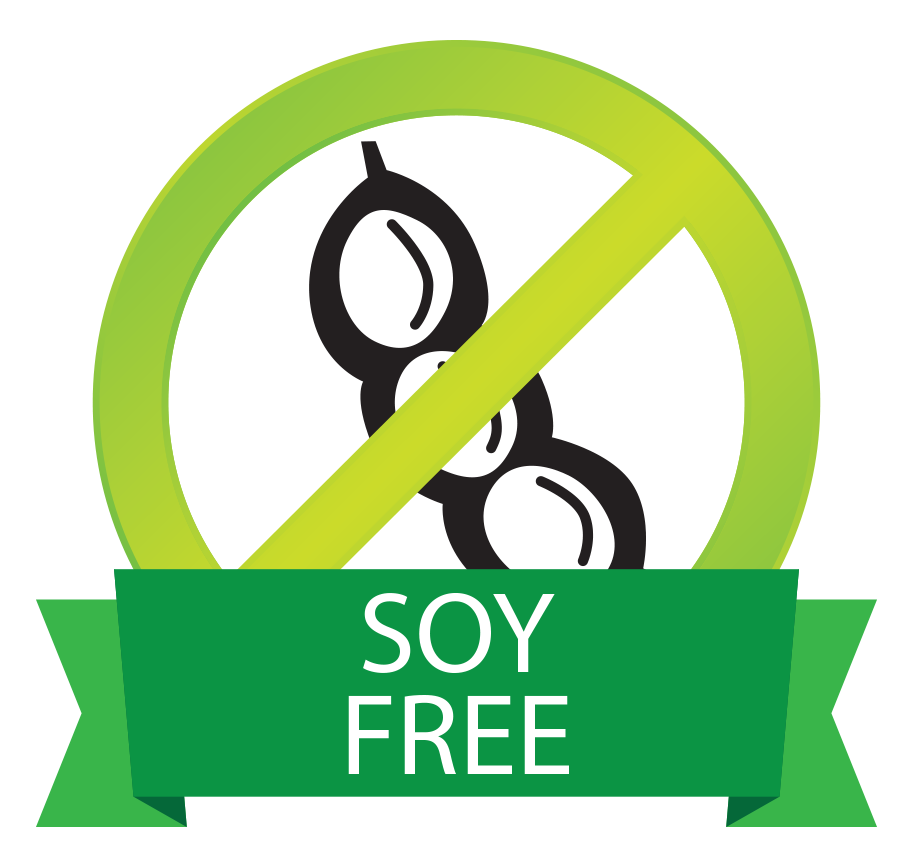 Clo Clo Vegan Foods Soy Free button