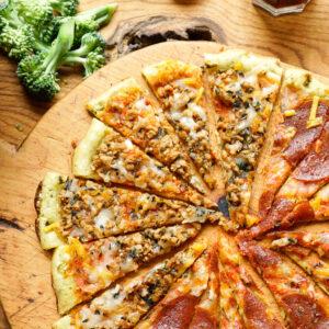 Clo Clo Vegan Foods Pizza Slices