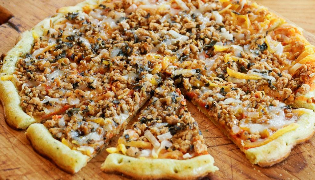 Clo-Clo Vegan Foods Frozen Pizza is Gluten Free!