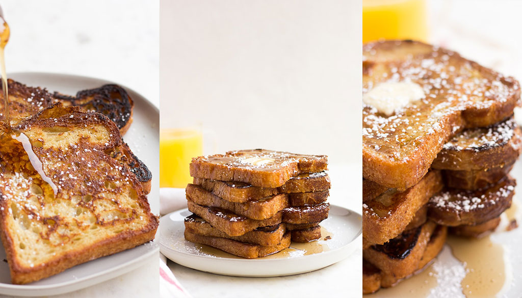 Vegan French Toast by Nora Cooks