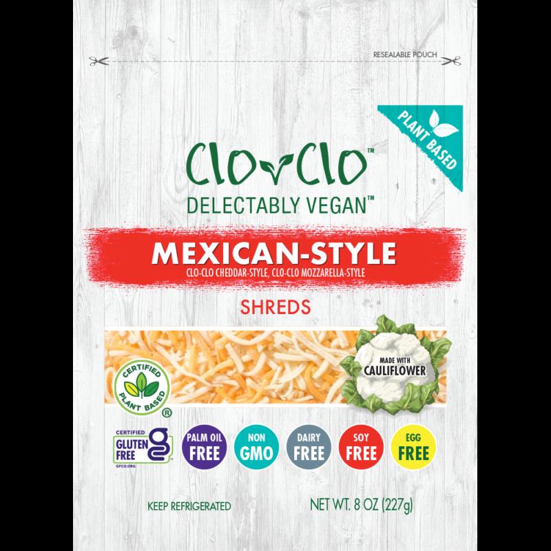 CLO-CLO Vegan Foods Mexican Cheese bag
