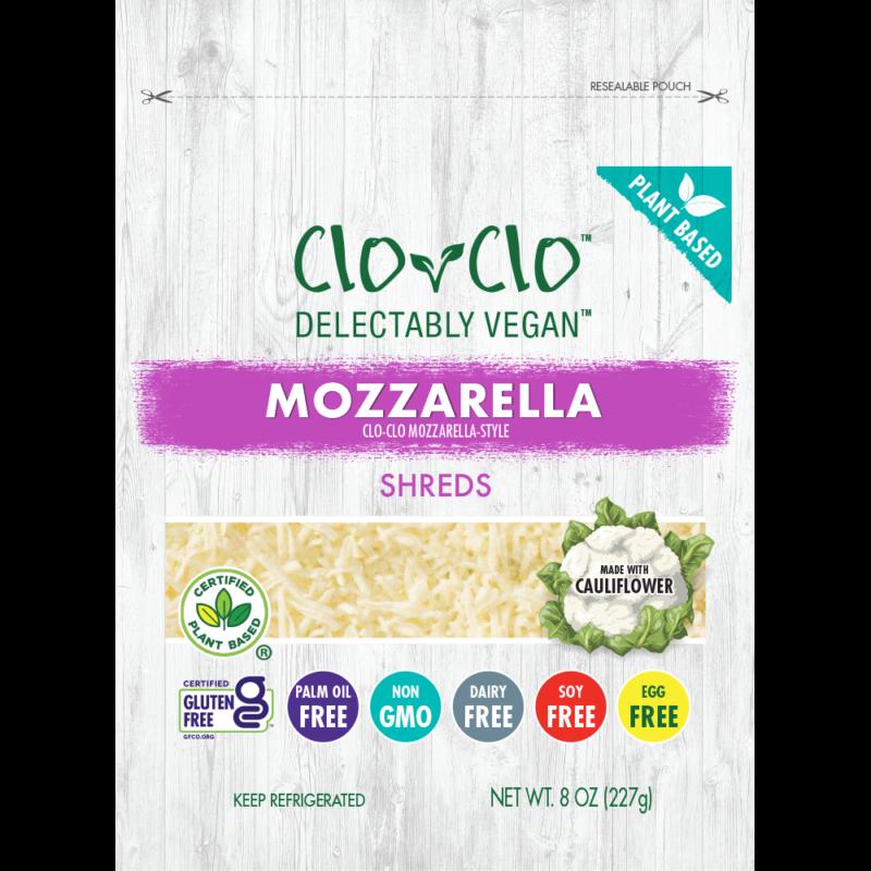 CLO-CLO Vegan Foods Mozz Cheese bag