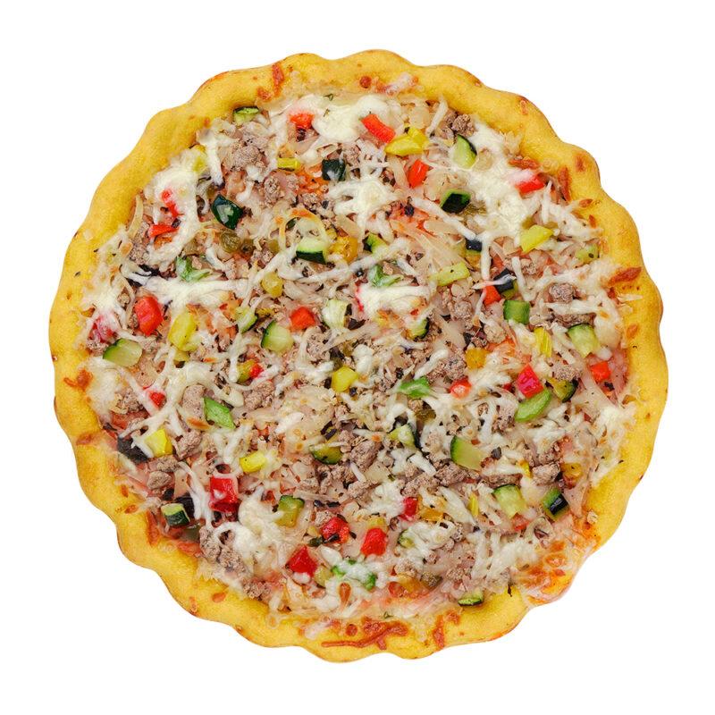 CLO-CLO Vegan Foods Caribbean Pizza Hero