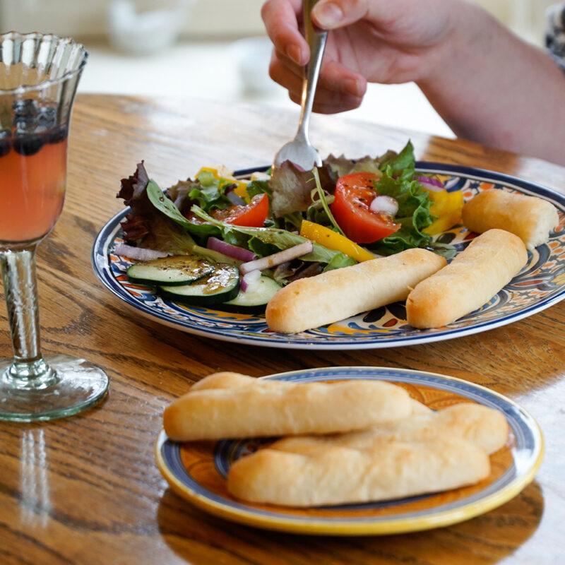 CLO-CLO Vegan Foods BreadSticks With Dinner