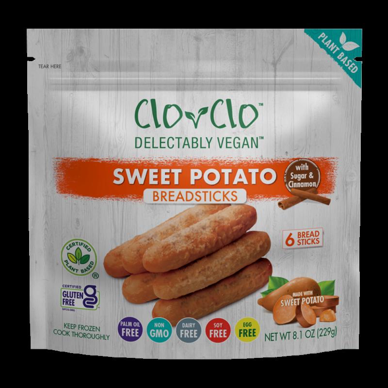 CLO-CLO Vegan Foods Cinnamon Sugar Breadsticks 3D